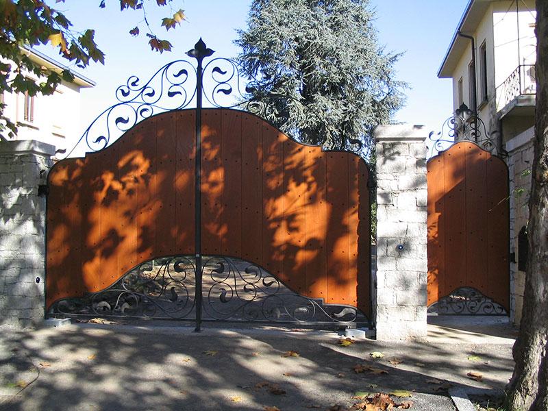 Cancelli Di Legno Prezzi : Cancello in ferro e legno gallery of cancelli in ferro e legno